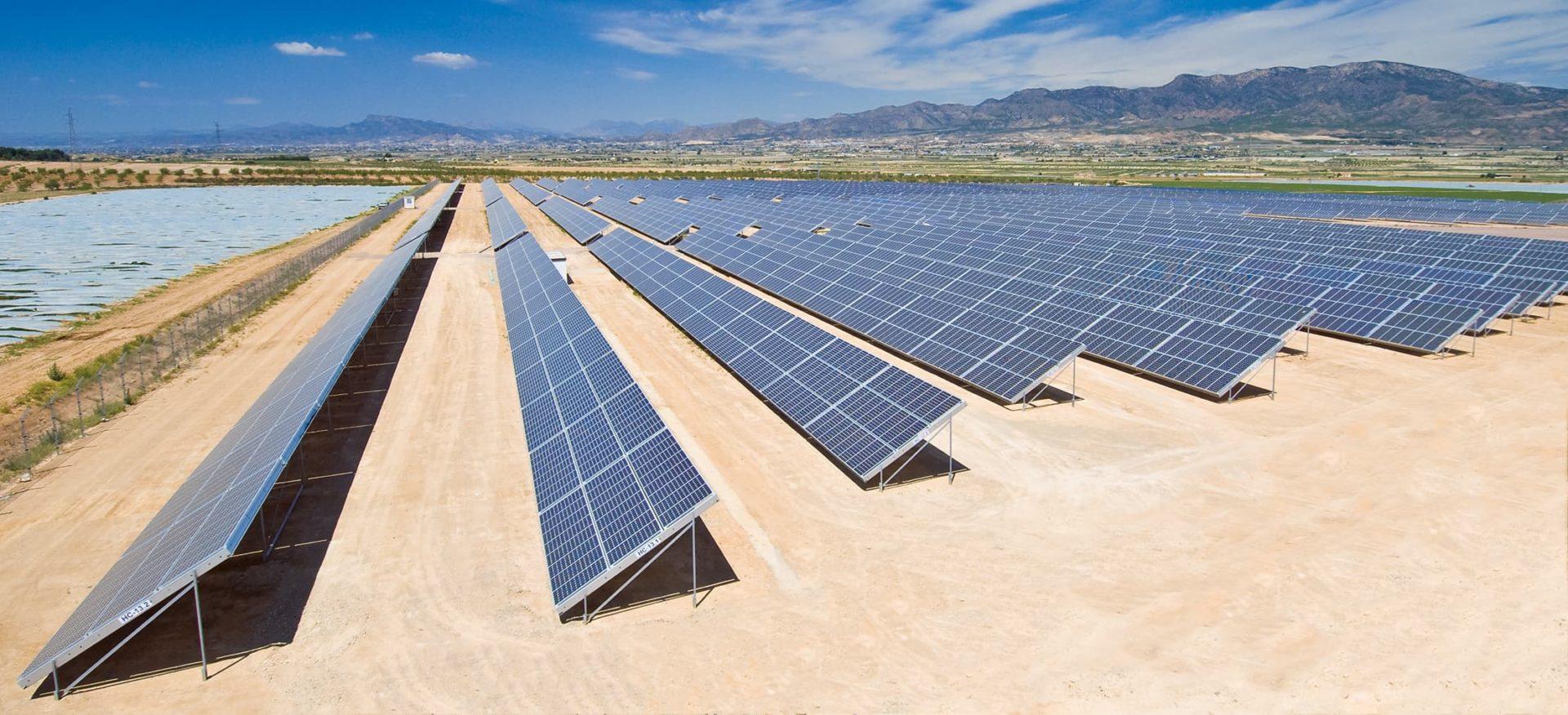 Solarpark NEEC in Murcia, Spanien