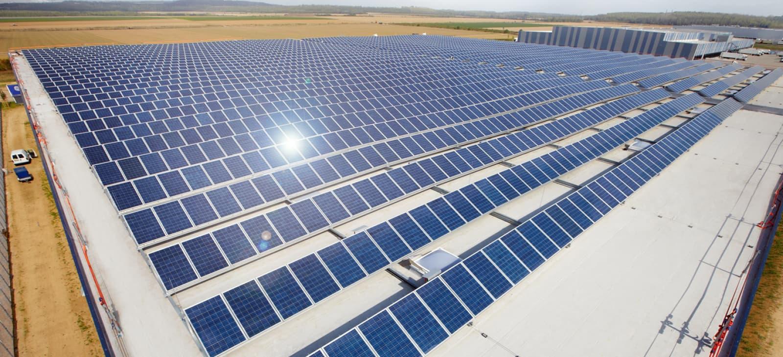 GOLDBECK SOLAR Solar Dach DE