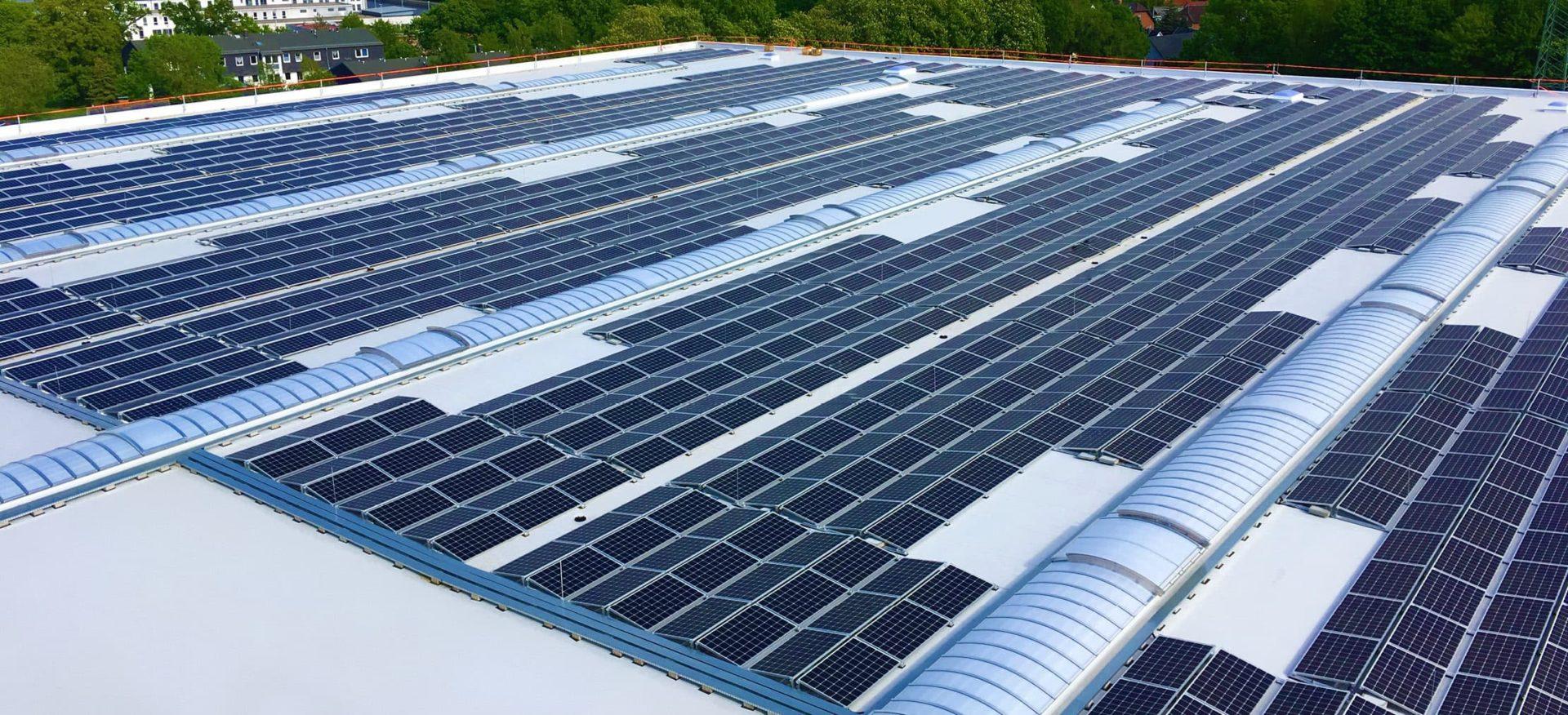 Solardach Störtebeker in Stralsund