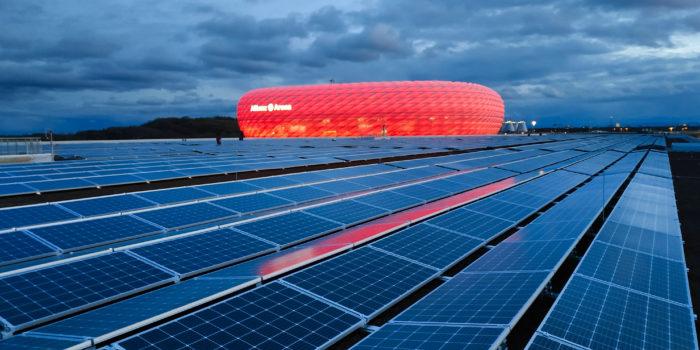 Solardach Allianz Arena, Deutschland