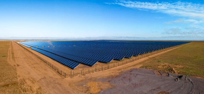 Solarpark Akadyr, Karaganda, Kazakhstan