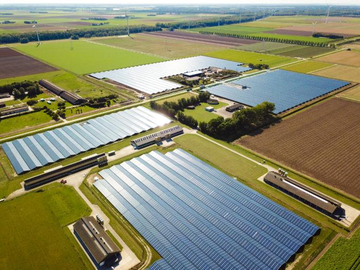 Solarpark Lelystad, Niederlande