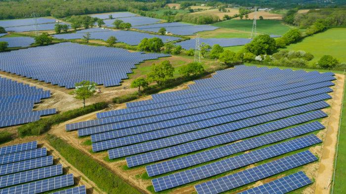 Solarpark Sandridge, Großbritannien