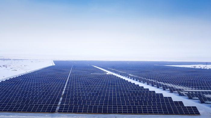 Solarpark Saran, Karaganda, Kazachstan