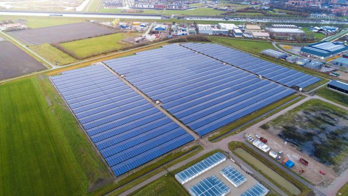 Solarpark Zieriksee, Niederlanden