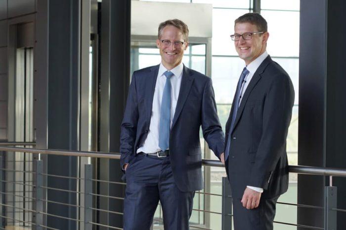 Joachim Goldbeck und Tobias Schüssler