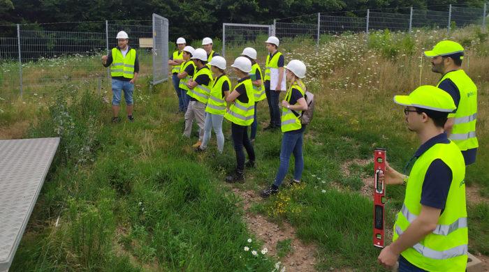 Weiterbildung im Solarpark Weierweiler