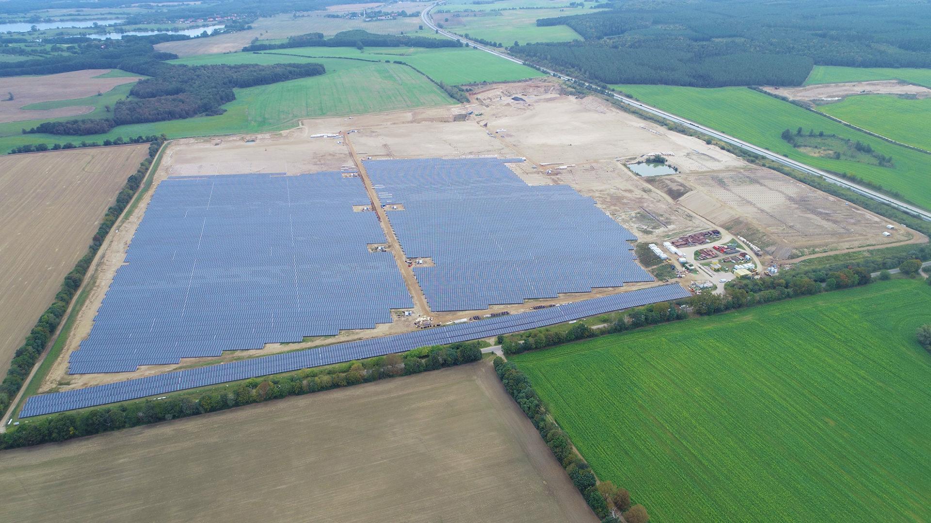 WEMAG-Solarparks Zietlitz