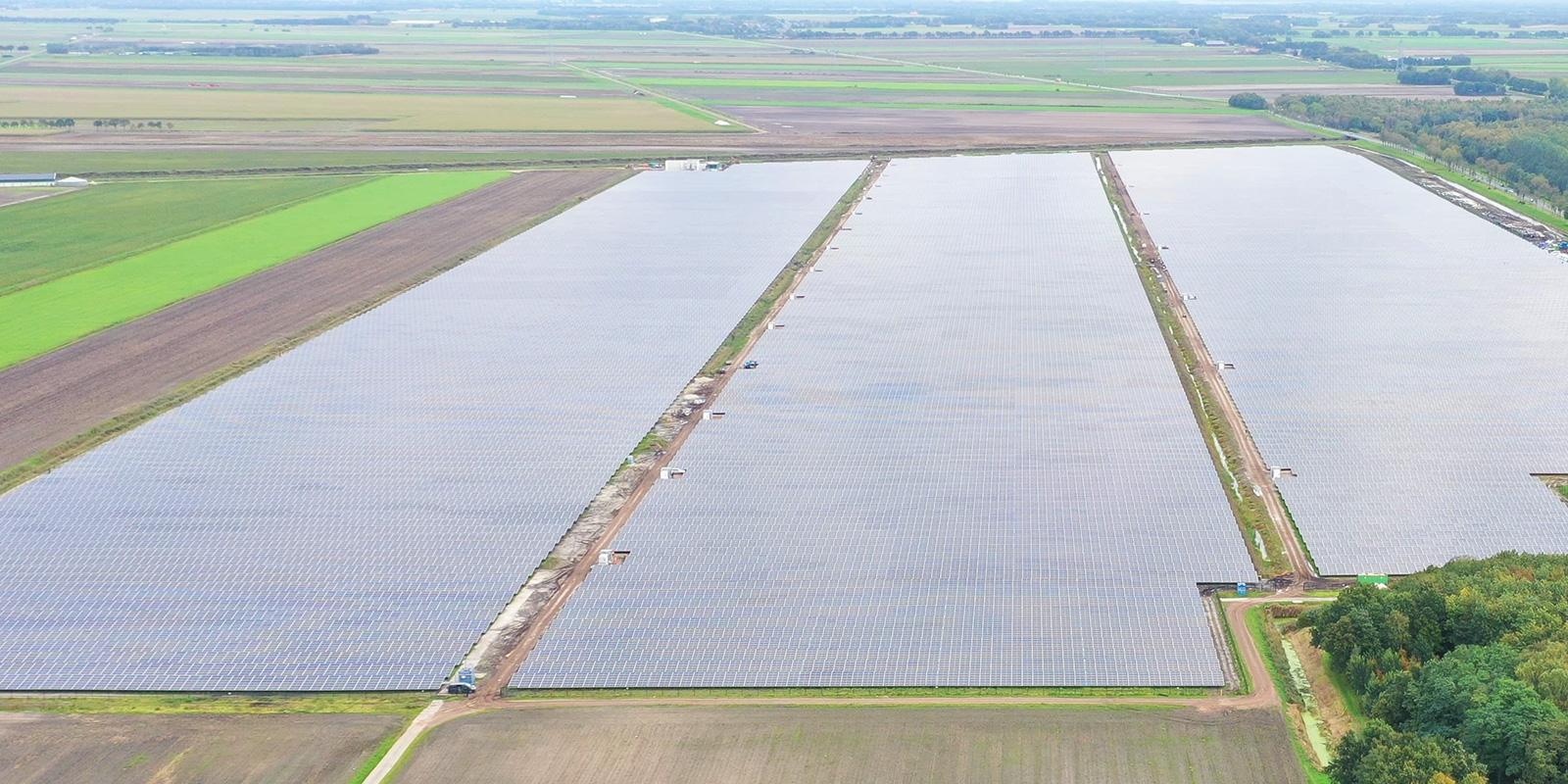 Der Solarpark Stadskanaal