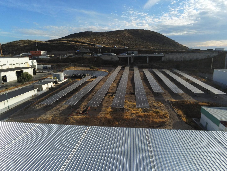 Solarpark Mann+Hummel in Querétaro, Mexiko