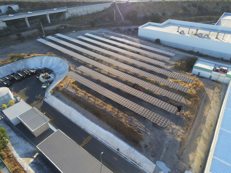 Solarpark Queretaro in Mexiko