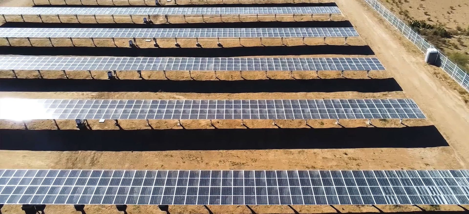 Solarparks Autodromo 1 in Mexiko