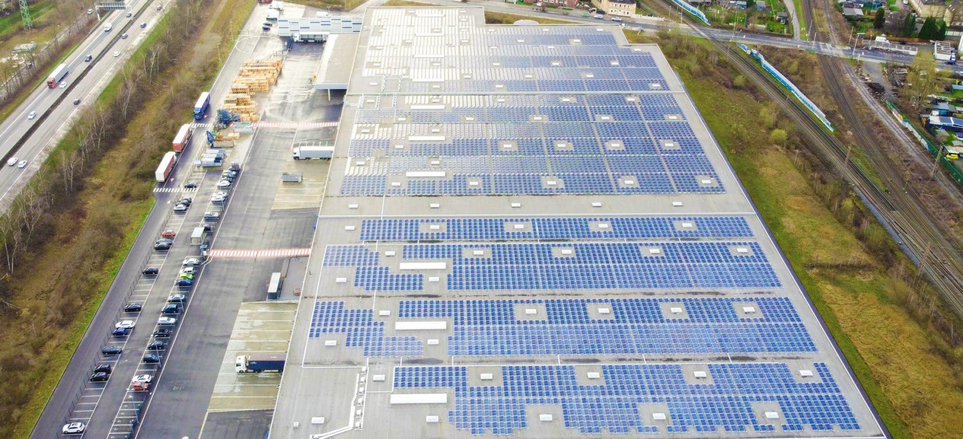 Solardach Logicor Gelsenkirchen