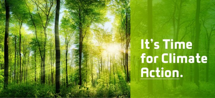 It's Time for Climate Action. Earth Week