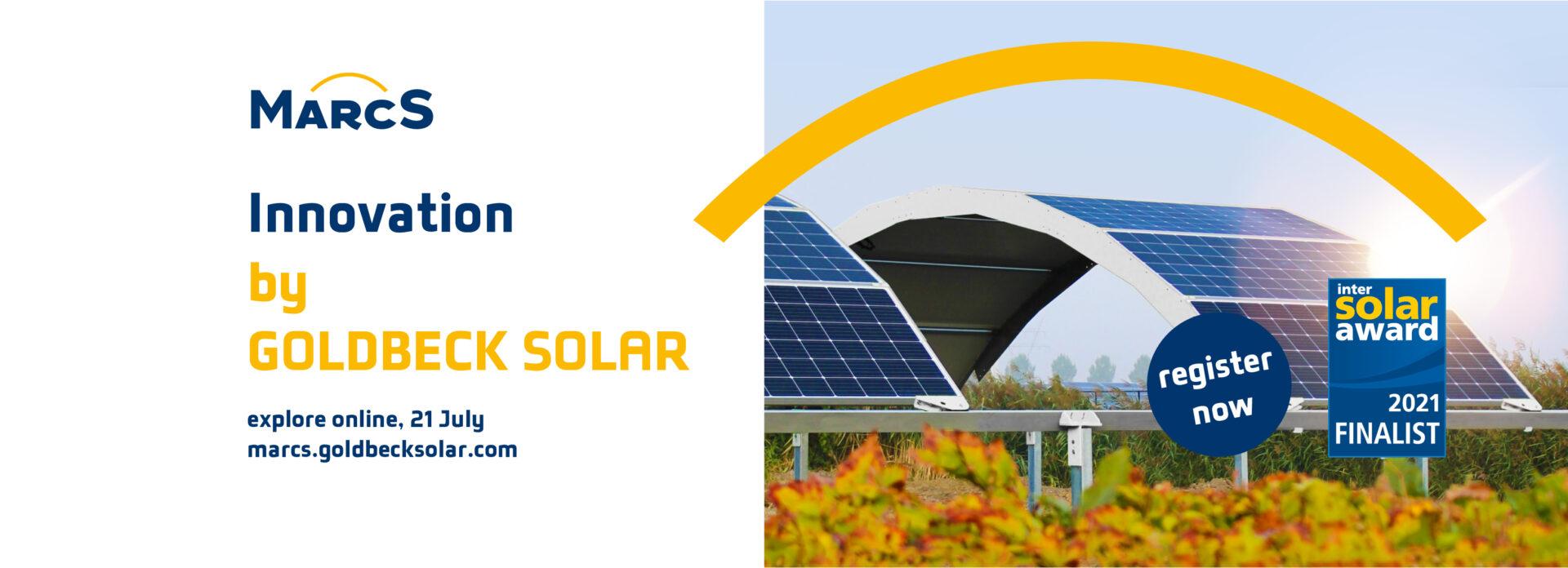 MarcS Innovation inspired by GOLDBECK SOLAR