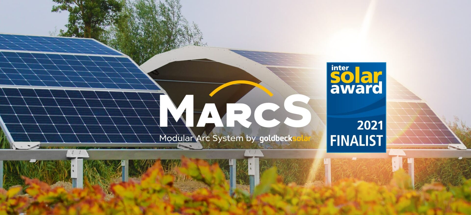 Mit dem Projekt MarcS ist GOLDBECK SOLAR im Finale der Intersolar Awards